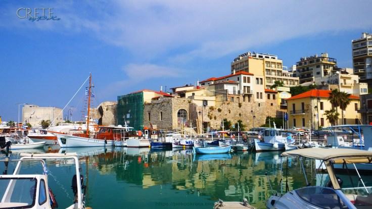 Im Hafen von Heraklion