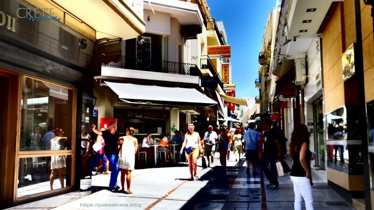 Dedalou Strasse in Heraklion