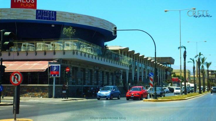 Das Talos-Plaza Einkaufszentrum an der Küstenstrasse Sofikli Venizelou